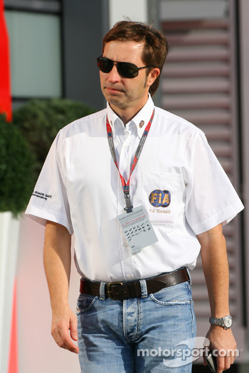 Heinz-Harald Frentzen is this weeks FIA steward