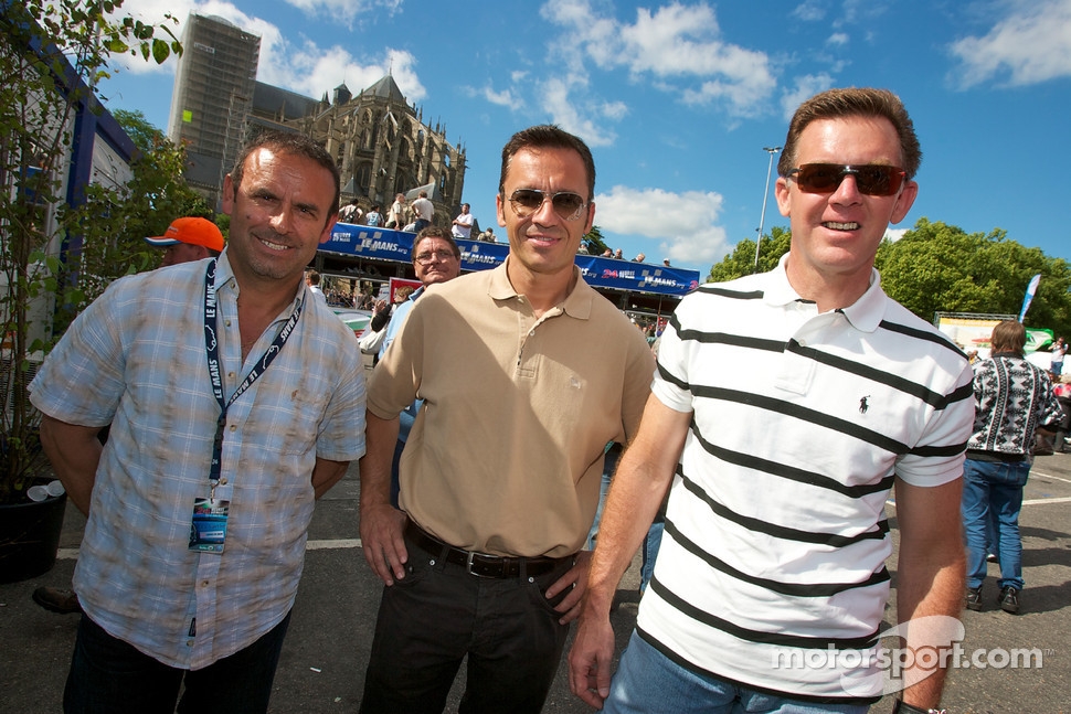 Christophe Bouchut and Scott Tucker