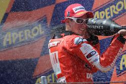 Podium: third place Casey Stoner, Ducati Marlboro Team