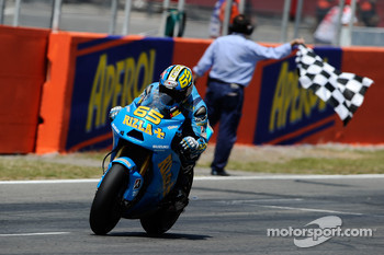 Loris Capirossi, Rizla Suzuki MotoGP finishes 7th