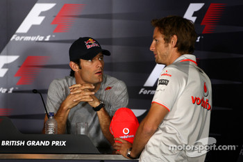 Mark Webber, Red Bull Racing, Jenson Button, McLaren Mercedes