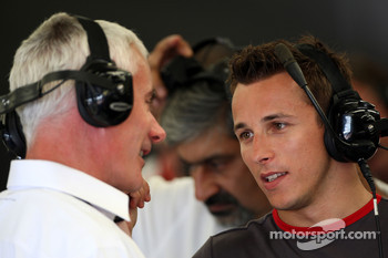 Geoff Willis, Christian Klien, test driver, Hispania Racing F1 Team