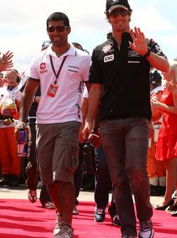 Karun Chandhok, Hispania Racing F1 Team, Lucas di Grassi, Virgin Racing