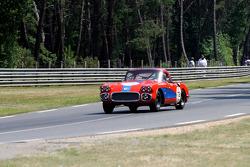 #78 Chevrolet Corvette 1960: Jean-Pierre Hubin, Thierry Durecu, Alain Serpaggi