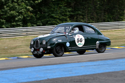 #56 Saab 93 GT 750 1959: Chris Partington, Ferdinand Gustavson, Chris Parkes, Chris Nutt