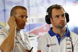 Oliver Panis and Nicolas Lapierre