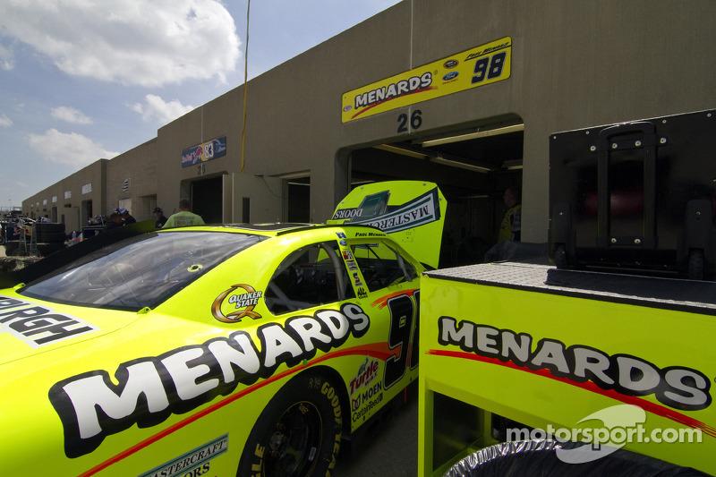 Car of Paul Menard, Richard Petty Motorsports Ford
