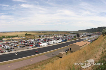 View from the top end of Bandimere Speedway, Morrison, Colorado