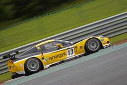 #13 Phoenix Racing / Carsport Corvette Z06: Marc Hennerici, Mike Hezemans