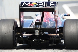 Toro Rosso Rear diffuser