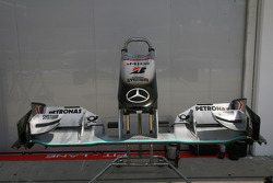 Mercedes front wing