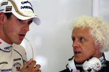 Adrian Sutil, Force India F1 Team, Jorge, father of Adrian Sutil