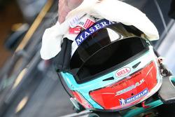Helmet of Andrea Bertolini