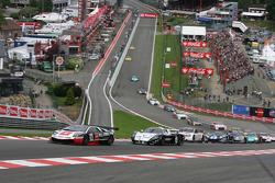 Start: #38 All-Inkl.com Münnich Motorsport Lamborghini Murcielago R: Nicky Pastorelli, Dominik Schwager
