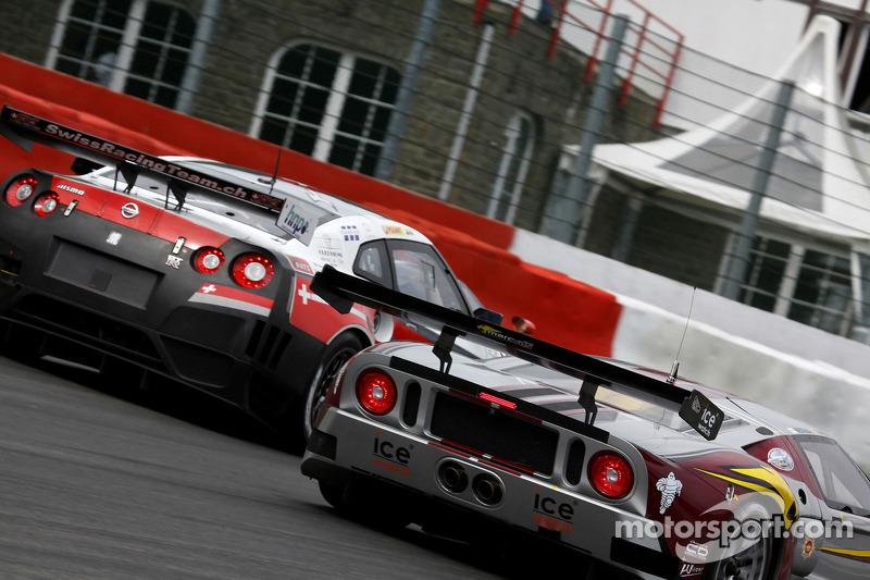 #40 Marc VDS Racing Team Ford GT: Bas Leinders, Maxime Martin, #4 Swiss Racing Team Nissan GT-R: Seiji Ara, Max Nilsson