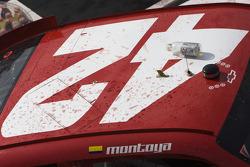 Victory lane: the winning number on the Earnhardt Ganassi Racing Chevrolet