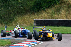 Jean-Eric Vergne leads James Calado
