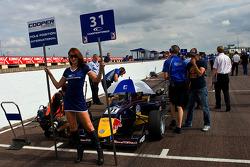Jean-Eric Vergne pole position