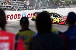Jeff Gordon, Hendrick Motorsports Chevrolet spins