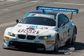 #90 BMW Rahal Letterman Racing Team BMW M3 GT: Dirk Müller, Joey Hand