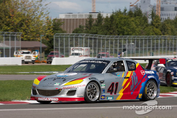 #41 Dempsey Racing Mazda RX-8: James Gue, Leh Keen