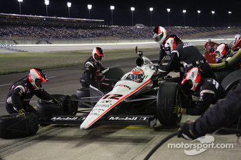 Pit stop for Will Power, Team Penske