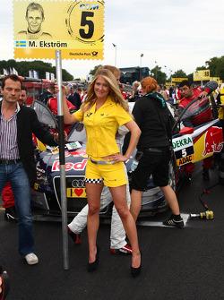 Mattias Ekström, Audi Sport Team Abt Audi A4 DGTMrid girl