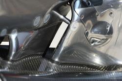 McLaren Mercedes front wing detail