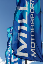 Flags at Miller Motorsports Park