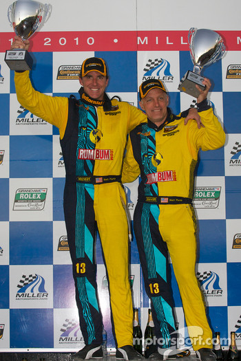 GS podium: class and overall winners Nick Longhi and Matt Plumb