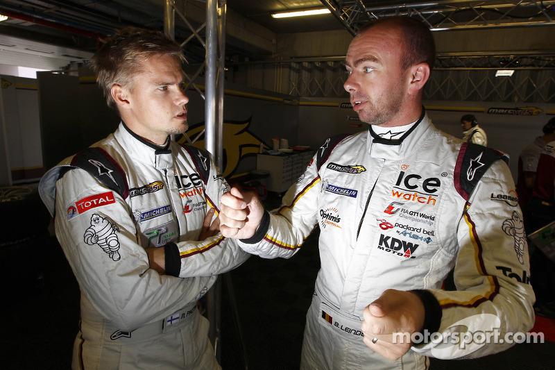 Markus Palttala and Bas Leinders