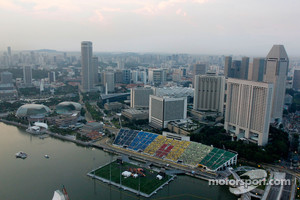 Forest fires to affect Singapore GP