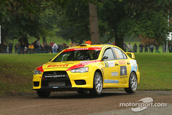 Alex Raschi and Rudy Pollet, Mitsubishi Lancer Evo X, Pirelli Star Driver