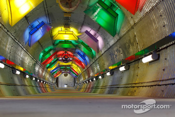 Tunnel at Kansas Speedway