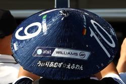 Japanese fan, Williams F1 Team