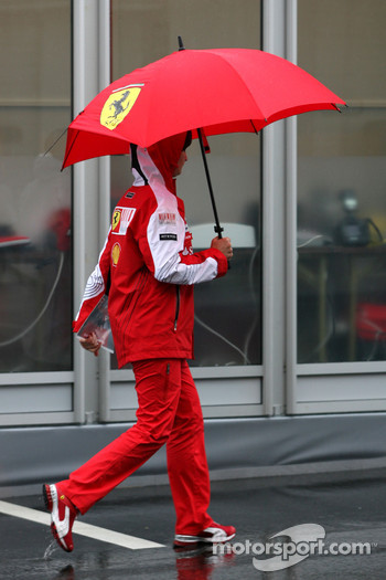 Scuderia Ferrari press officer