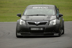 James Thompson in the new NGTC Toyota Avensis