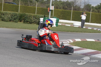 Rally Catalunya karting race: Daniel Sordo