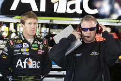 Bob Osborne and Carl Edwards, Roush Fenway Racing Ford
