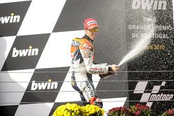 Podium: third place Andrea Dovizioso, Repsol Honda Team