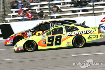 Paul Menard and Steve Wallace