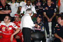 Fernando Alonso, Scuderia Ferrari, Bernie Ecclestone, Sebastian Vettel, Red Bull Racing