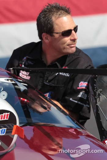 Greg Anderson aboard his Summit Racing Pontiac GXP