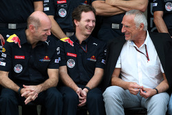 Adrian Newey, Red Bull Racing, Technical Operations Director, Christian Horner, Red Bull Racing, Sporting Director, Dietrich Mateschitz, Owner of Red Bull