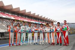 Lexus GT500 Drivers