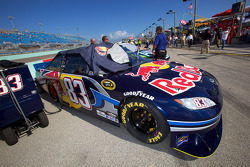 Pole winning car of Kasey Kahne, Red Bull Racing Team Toyota