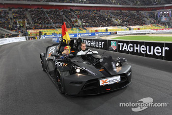 Michael Schumacher and Sebastian Vettel for Team Germany