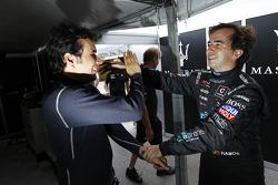 Enrique Bernoldi and Miguel Ramos
