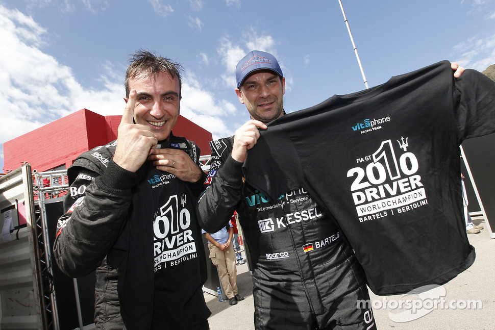2010 FIA GT1 World champions Andrea Bertolini and Michael Bartels