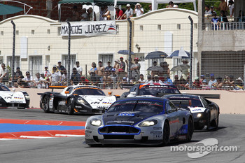 #10 Hexis AMR Aston Martin DB9: Clivio Piccione, Jonathan Hirschi